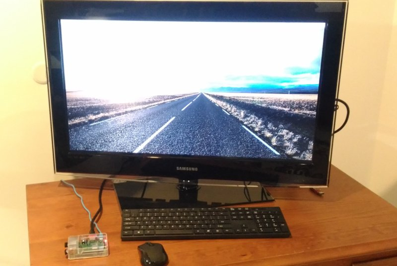 Raspberrypi using TV monitor